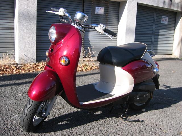 ヤマハ ビーノ 4サイクル FIモデル の写真