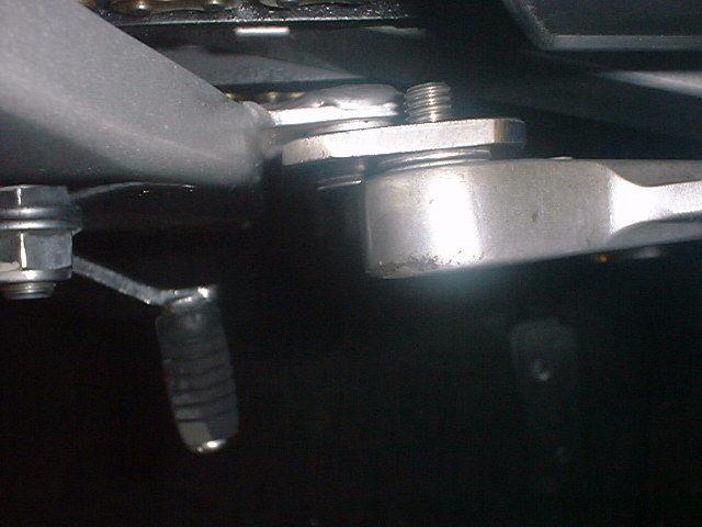 EVOLVE R オリジナル NSR50ミニ、NSF100用ポジションバックアッププレート 画像 2
