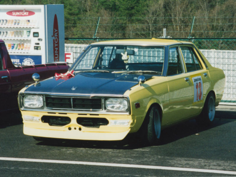 PA10スタンザ レース用 セントラルサーキットにて・・・。