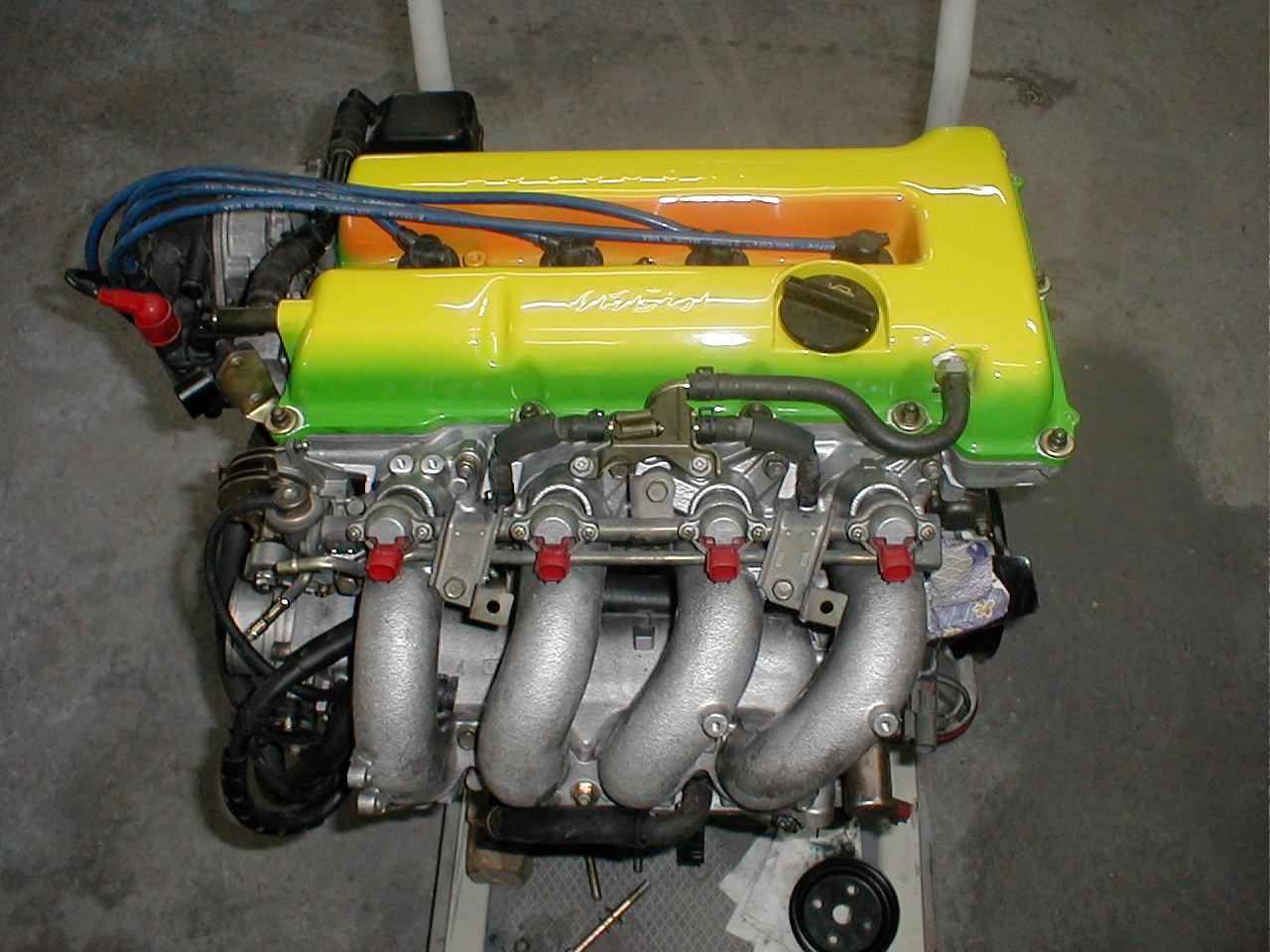 シングル時代のオシャレエンジン。
