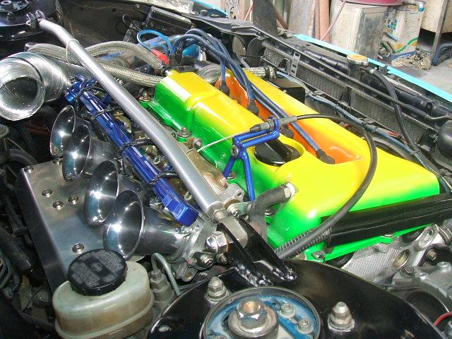 4スロ。SR20・NAエンジン