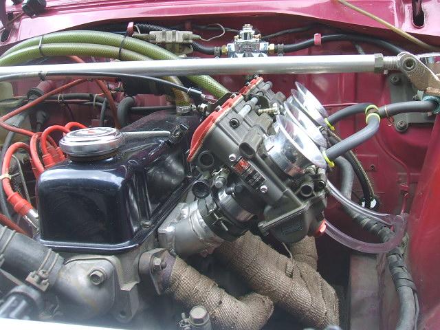TMRFCRキャブレターソレックス日産A型エンジンヨシムラミクニ
