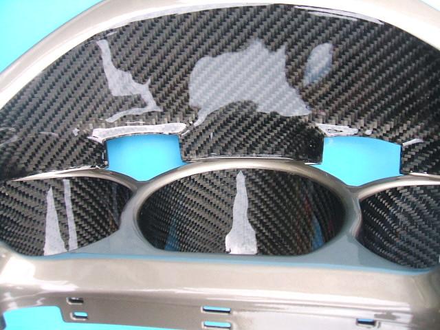 LEXUSレクサスのリアルカーボンメーターフードで高級感アップ