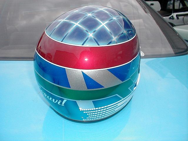 四輪・レース用デザインヘルメット第2弾。『91号車』