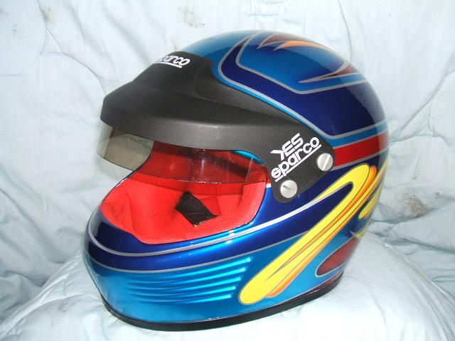 四輪・レース用デザインヘルメット第8弾。『7号車』 H氏