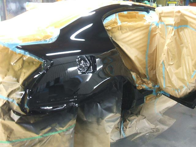 NISSAN日産V36スカイライン ワイドボディ オーバーフェンダー ワンオフ 加工施 叩き出し