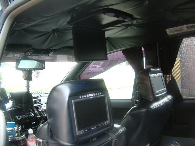 AZR60ノア ヘッドレストモニター フリップダウンモニター 取付