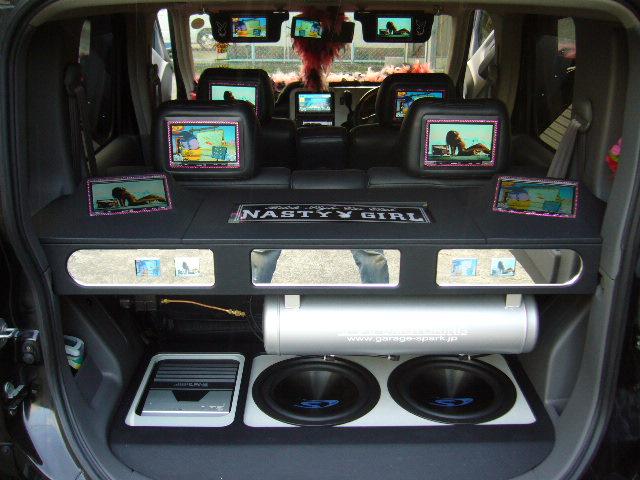 Z11キューブ ライダー トランクモニター