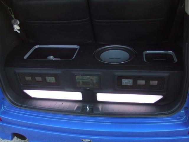 ステップワゴン トランクオーディオ製作
