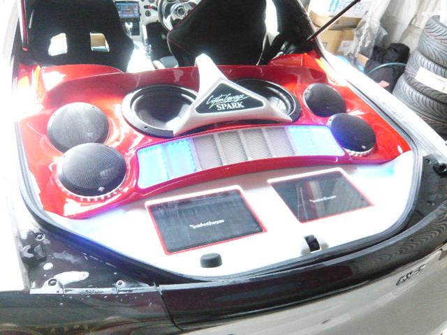 RX7 トランクオーディオ