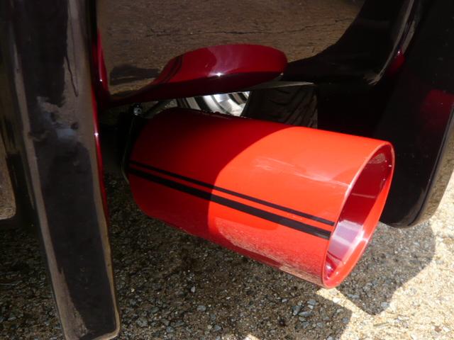 フィット4WD 両側出しマフラー ワンオフ