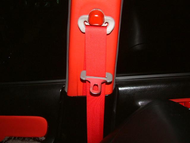 JB1 ライフ シートベルト 巻き換え