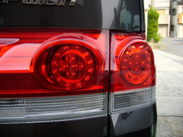 RG ステップワゴン LEDテールレンズ 4灯化