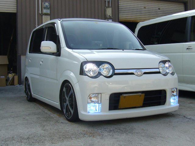 L150 ムーヴ 30000KフォグランプHID