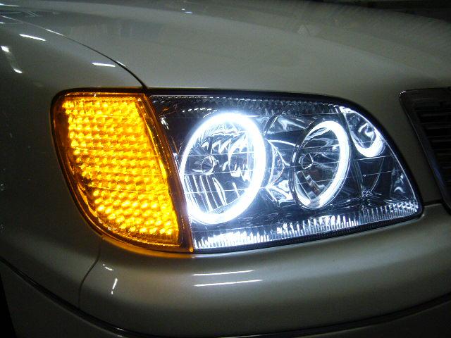 20 セルシオ 後期 CCFL イカリング LEDウインカー