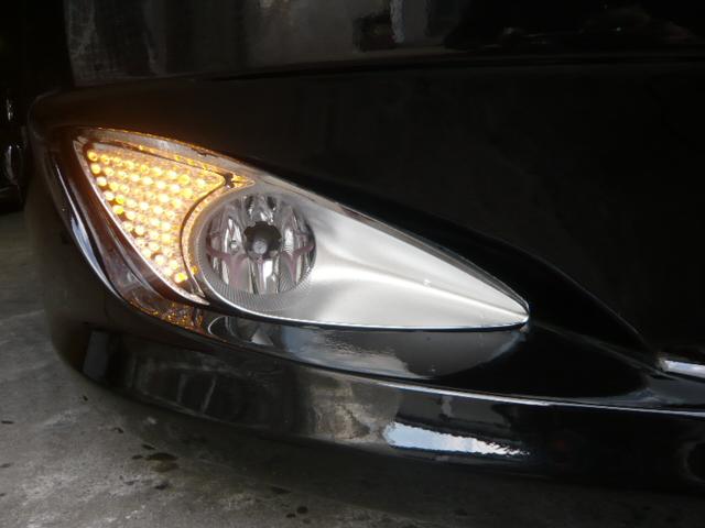 ベンツSクラスフォグランプ LED加工