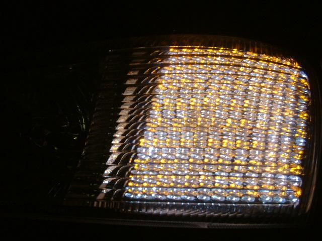 Y33セドリック ブロアムヘッドライトLED加工