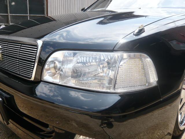 14マジェスタ ヘッドライトクリスタル&LED加工