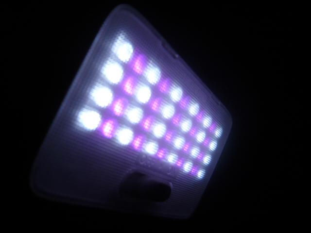 MHワゴンR ルーム球 LED加工