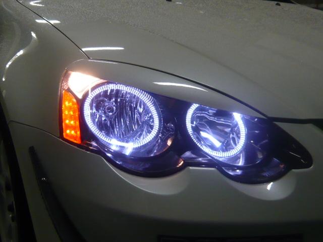 インテグラ LED イカリング 取付