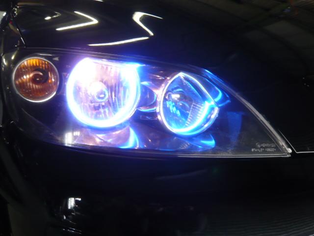 デミオ CCFLイカリングブルー4灯