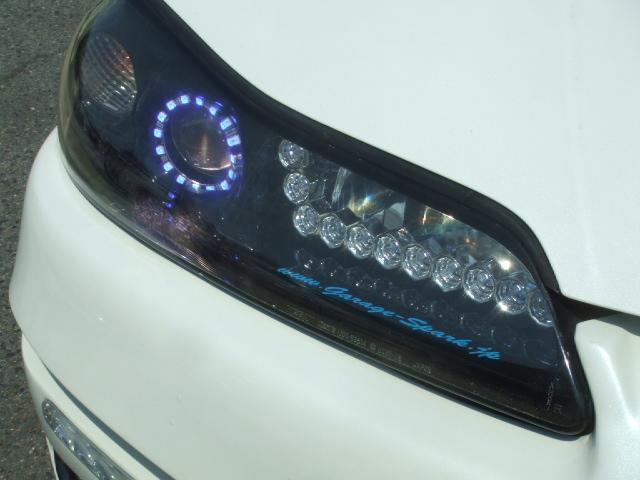 シルビア ヘッドライト加工 LED アウディー