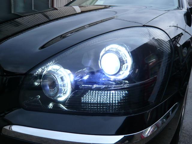 F50シーマ ヘッドライト加工