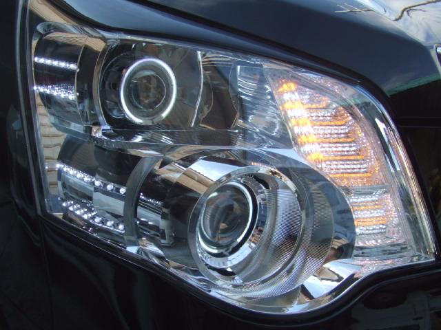 70ノア ヘッドライト加工 プロジェクター CCFL LED
