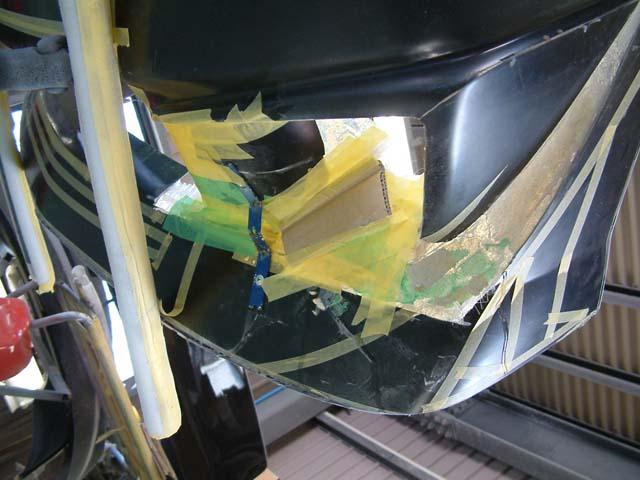 MRワゴン エアロ加工