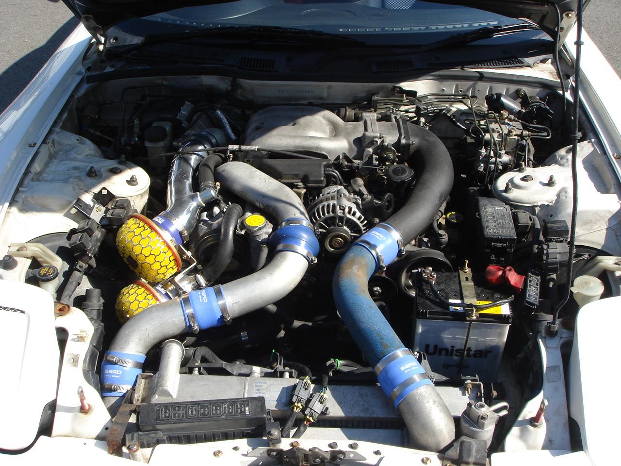 エンジンは6型の後期エンジンにスワップ