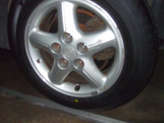 新品のタイヤ