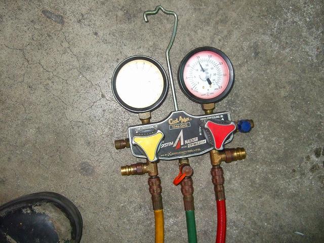 圧力を測り正常でしたら完成です。