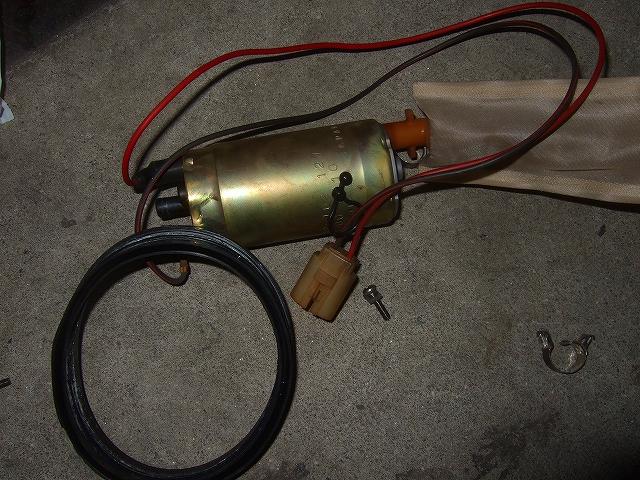 燃料ポンプとパッキン