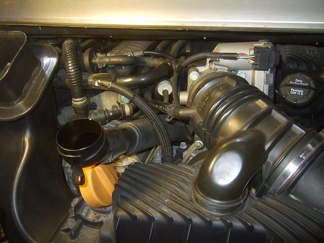 エンジンオイル交換しました。