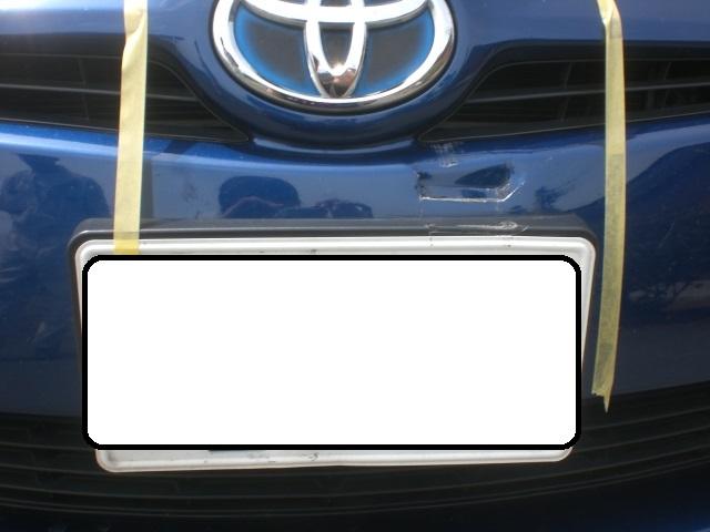 【トヨタプリウス】フロントバンパー修理/上尾市