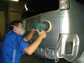 タウンエースノアの修理埼玉県自動車板金塗装修理/羽生市