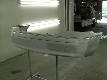 メルセデスベンツC240修理埼玉県自動車板金塗装修理/鴻巣市