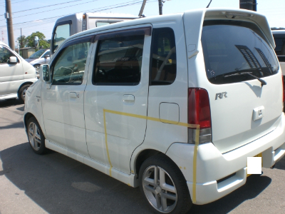ワゴンR埼玉県自動車板金塗装修理/北本市