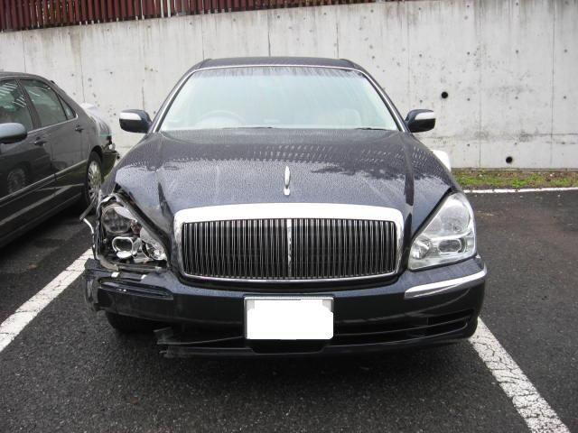 日産 ハイヤー プレジデント 板金塗装修理は千葉松戸タキザワ自動車へお任せください