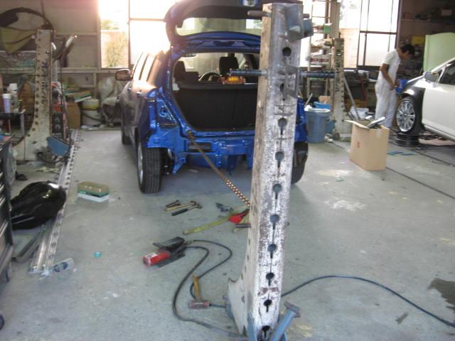 スズキ スイフト 鈑金塗装修理