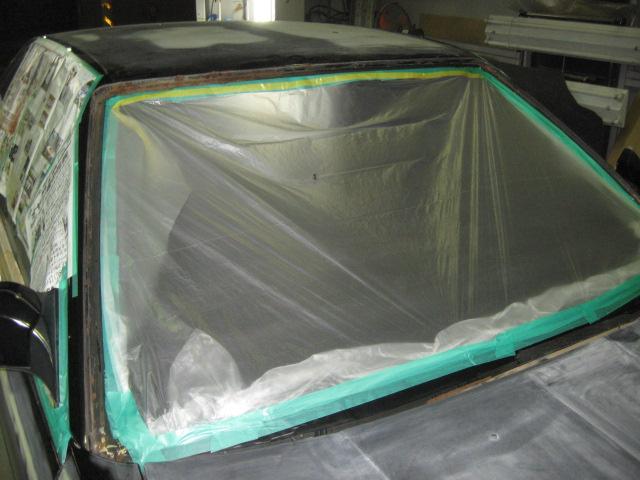 ニッサン31スカイラインサビキズヘコミ修理全塗装オールペイント