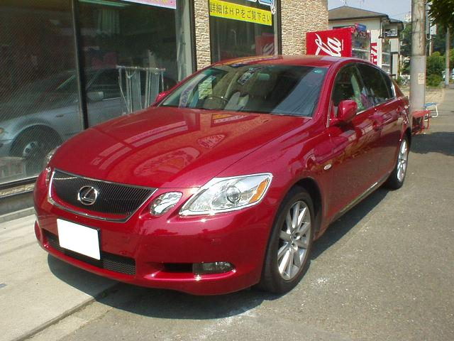 レクサスGS350GS450IS350IS250LS600LS460鈑金塗装は千葉松戸タキザワ自動車