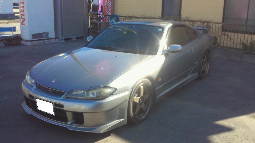 S15シルビアツメオリ加工