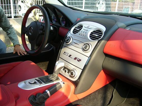 ベンツ マクラーレン SLR ナビゲーション モニター