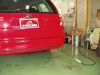排気ガスの測定