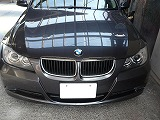 BMWフロントバンパースリキズ修理!
