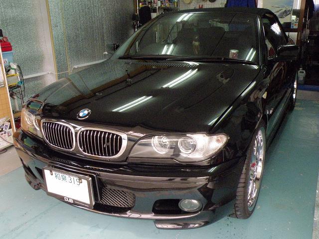 ガラスコーティング BMW カブリオレ