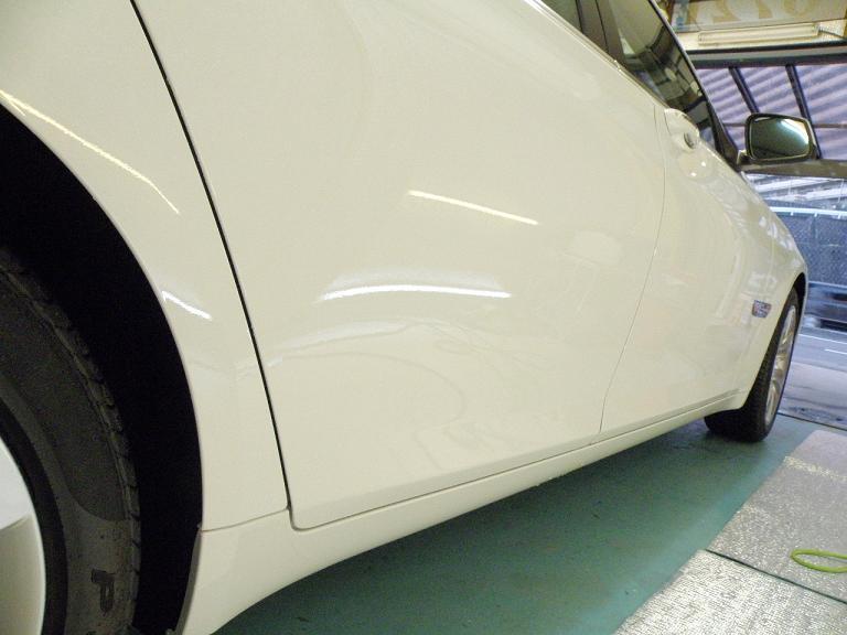 ガラスコーティング BMW サイド