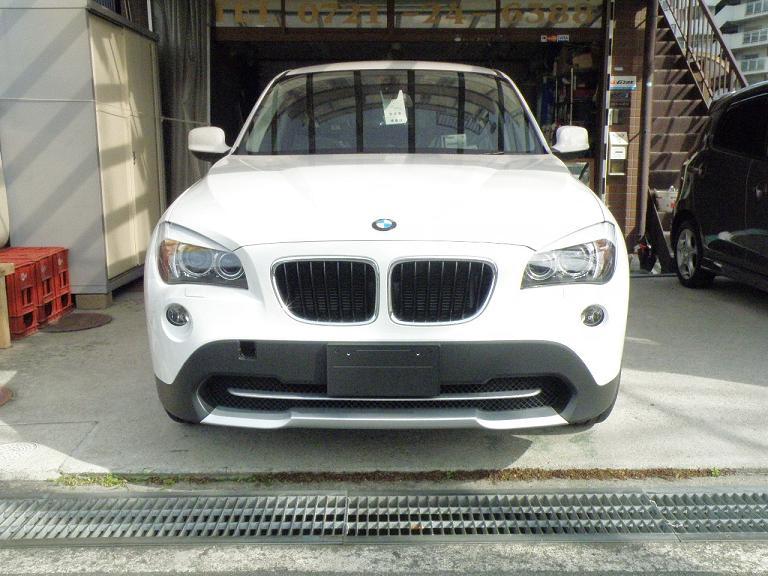 ガラスコーティング BMW X1