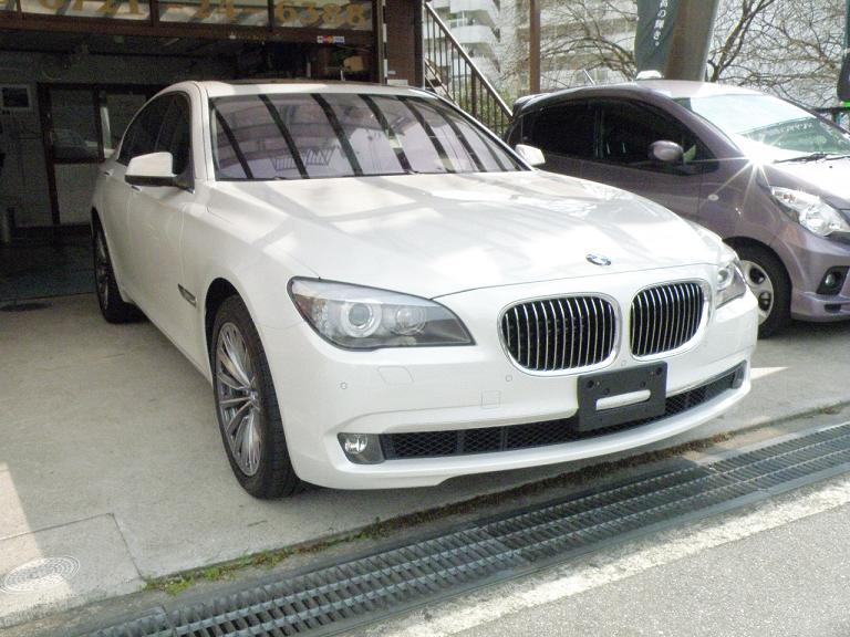 ガラスコーティング BMWハイブリッド